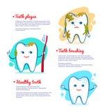 Tänder som borstar begrepp Royaltyfria Foton