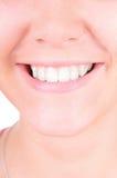 Tänder som whitening. Tandvård Royaltyfria Foton