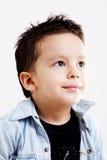 tänka för barn Fotografering för Bildbyråer
