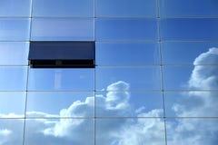 tänka för blå sky Arkivfoton