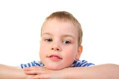 tänka för pojkehänder fotografering för bildbyråer