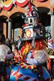 Tänzer Aalst Carnival 2018 Lizenzfreie Stockbilder