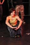 Tänzer auf Stufe Stockfotografie