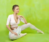 Tänzer in den Ballettschuhen lizenzfreies stockfoto