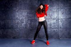 Tänzer in der Bewegung Lizenzfreies Stockfoto