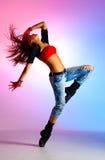 Tänzer der jungen Frau stockbilder