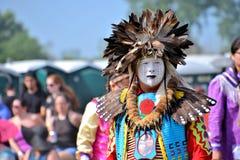 Tänzer des amerikanischen Ureinwohners Lizenzfreies Stockfoto