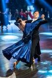 Tänzer, die Standardtanz tanzen lizenzfreie stockfotos