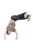 Tänzer - einfrierend in der Luft Stockbilder