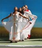 Tänzer am Erbe-Tagesfestival Lizenzfreie Stockbilder