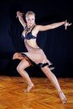 Tänzer im Ballsaal Stockfoto