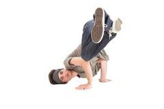Tänzer - verschieben auf dem Fußboden Lizenzfreie Stockfotos