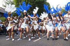 Tänzer von der La-Dreiheithin- und herbewegung Lizenzfreies Stockfoto