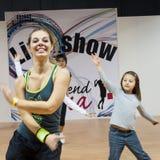 Tänzer am Wochenende Donna 2013 in Mailand, Italien Lizenzfreies Stockbild