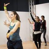 Tänzer am Wochenende Donna 2013 in Mailand, Italien Stockfoto