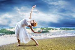 Tänzeraufstellung Stockfoto