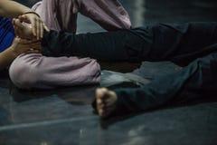 Tänzerbein, Fuß lizenzfreies stockfoto
