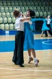 Tänzerin und Junge Stockbild