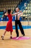 Tänzerin und Junge Stockfotos