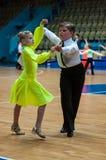 Tänzerin und Junge Stockfoto