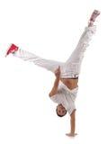 Tänzerstellung einerseits Lizenzfreie Stockfotos
