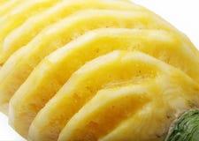 tät ananas upp Fotografering för Bildbyråer