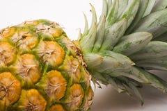 tät ananassikt royaltyfri bild