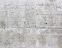 tät betong som skjutas upp väggen Royaltyfri Bild