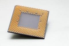 tät CPU upp royaltyfri fotografi