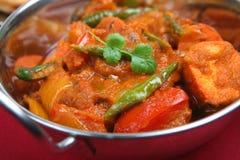tät curry upp Arkivbild
