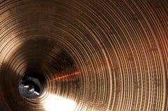 tät cymbal upp Arkivbilder
