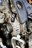 tät detaljmotor för bil upp Royaltyfri Bild