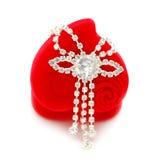 tät diamantgåva för ask upp Royaltyfri Foto