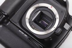 tät dslr för kamera upp arkivfoton