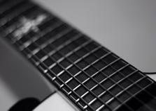 tät elektrisk gitarr upp Royaltyfria Foton