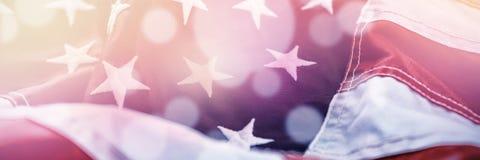 tät flagga för american upp vektor illustrationer
