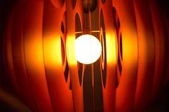 tät glödande lampa 3 upp Arkivfoton