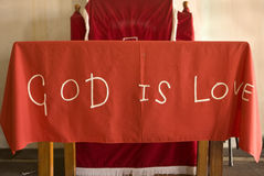 tät gudförälskelse för bibel upp Arkivfoto
