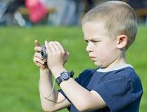tät gullig stående för pojke upp Arkivbilder