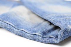 tät jeans skjuten textur upp Royaltyfri Fotografi