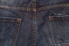 tät jeans skjuten textur upp Arkivbild