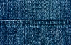 tät jeans texture upp Royaltyfri Foto