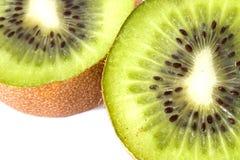 tät kiwi upp arkivfoton
