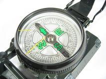 tät kompass ii upp arkivbild