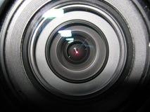tät lins för kamera upp Arkivbilder