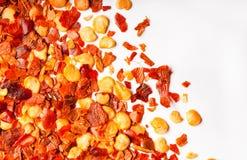 tät makro för chili upp Royaltyfri Bild