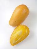 tät mango för champagne upp Royaltyfria Foton