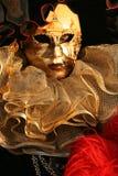tät maskerad för carnivale upp arkivfoto