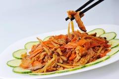 tät matplatta för kines upp royaltyfri foto
