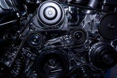 tät motor upp Arkivbilder